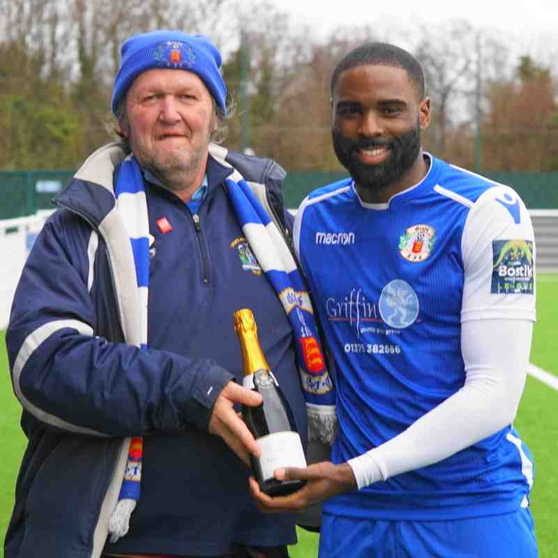 FANS PLAYER OF THE MONTH(JAN)-KIERON BISHOP