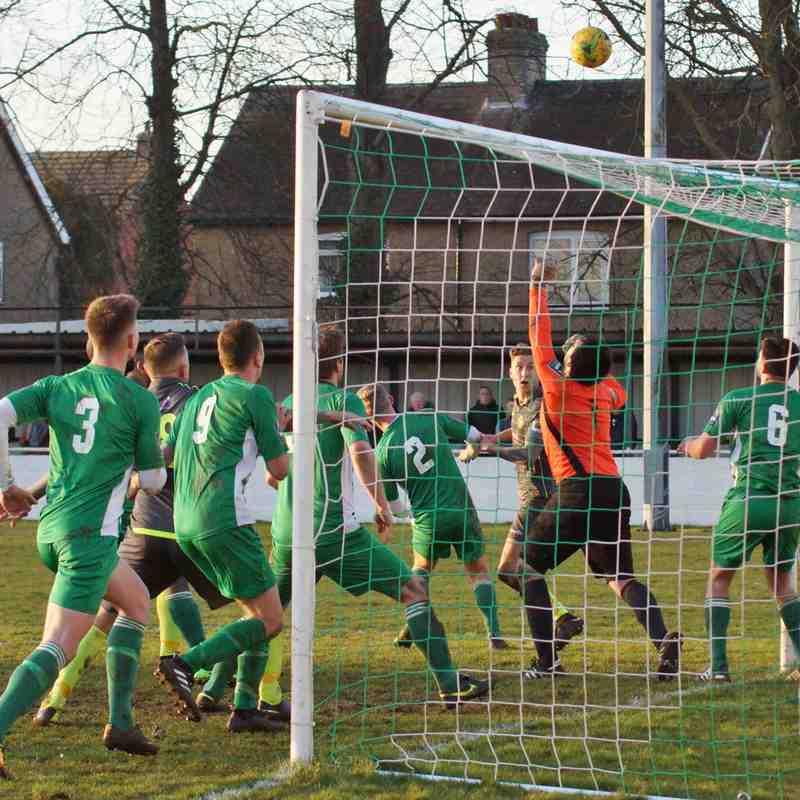 AWAY AT SOHAM 24/2/18-DREW 0-0