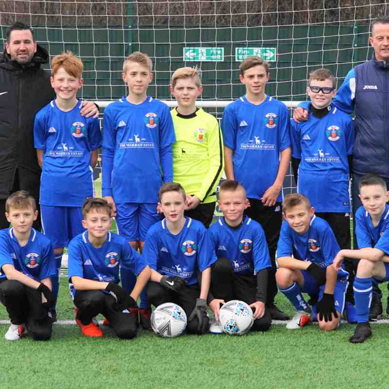 MASCOTS GRAYS  YOUTH U-12s white 1/12/18