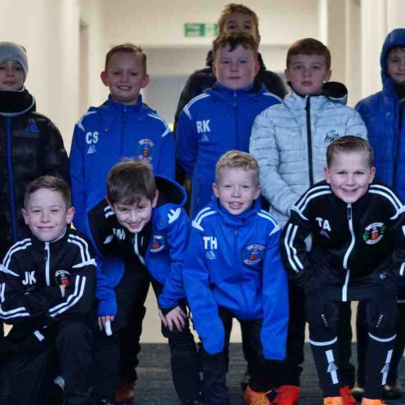 MASCOTS  AT THE BASILDON GAME 15/12/18.