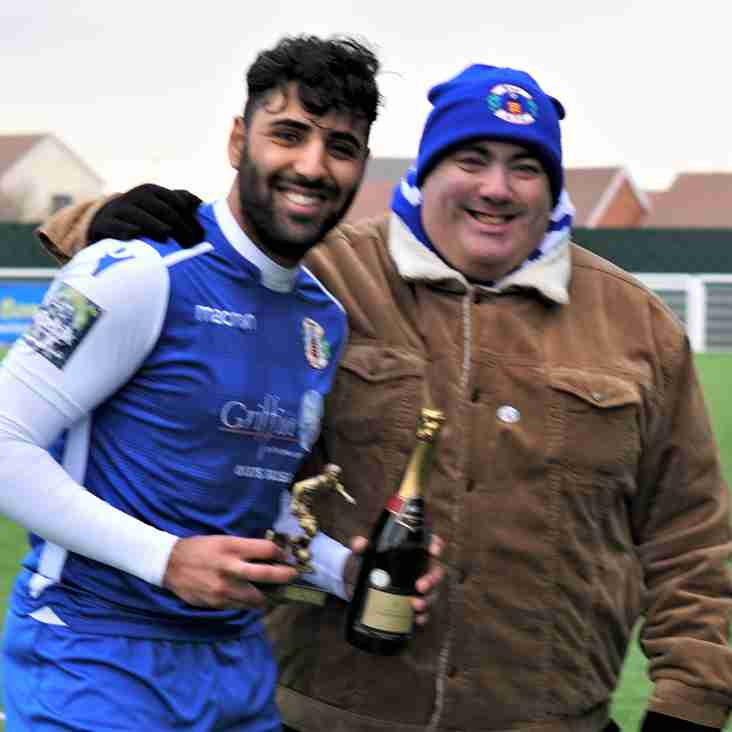 Supporters Player of the Month - January