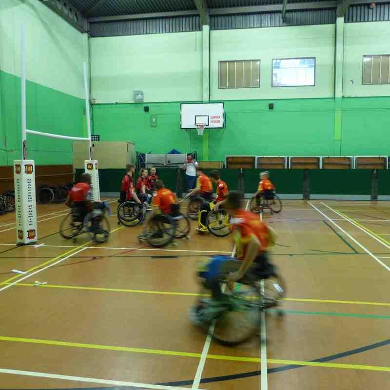 Wheelchair @ Gravesend July 2016
