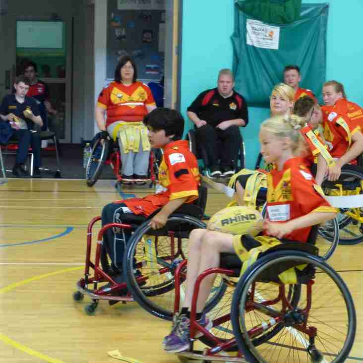 Wheelchair Rugby League Challenge Cup Draw
