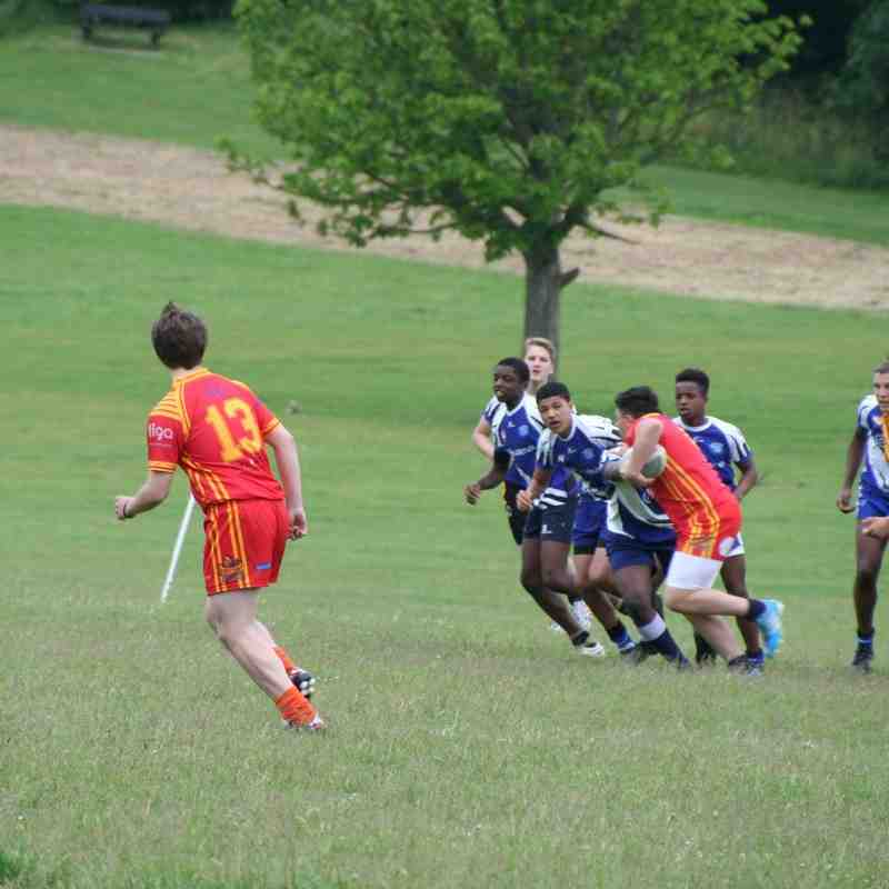 U15s away at Croydon 13.6.15