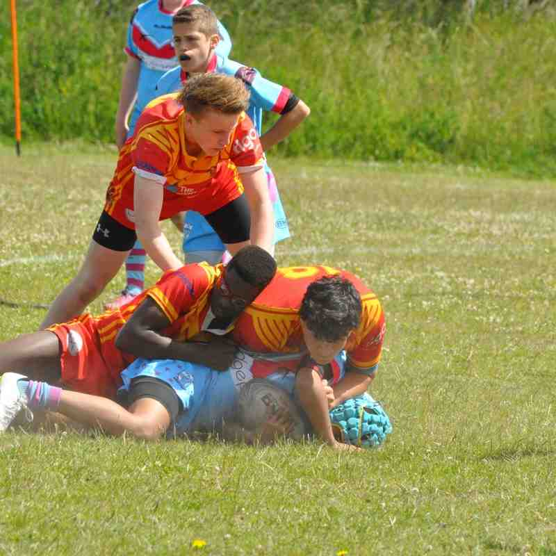 Dragons U15s away at Sussex Merlins 27.06.15