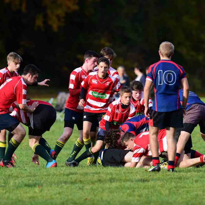 Under 16's Muntly v Ross Sutherland 30 October 2016