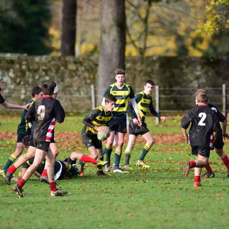 under 16's Muntly v Orkney 12 November 2016