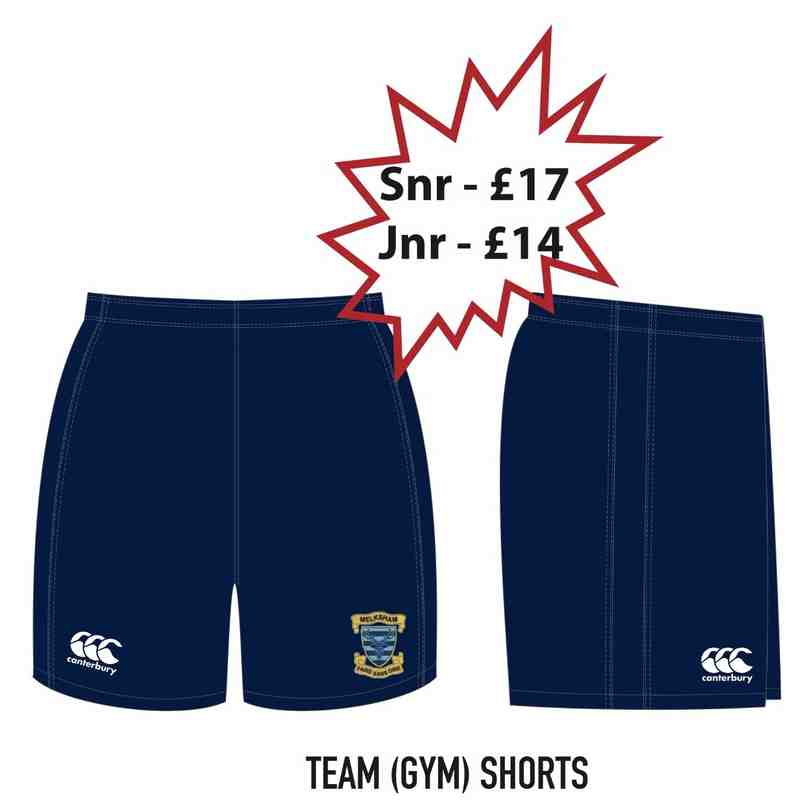Team Gym Shorts (Senior)