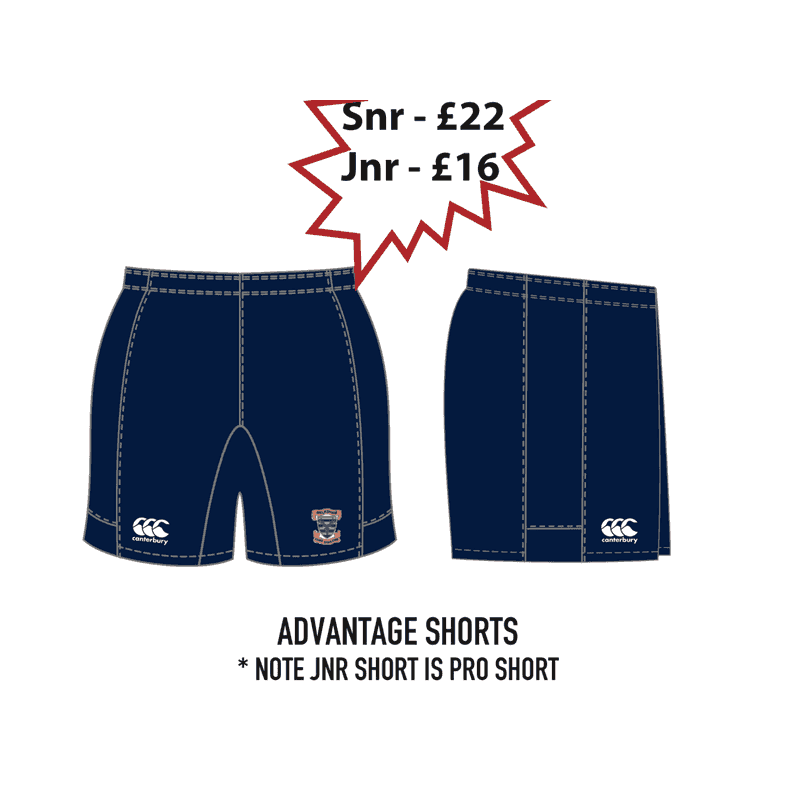 Advantage shorts (Senior)
