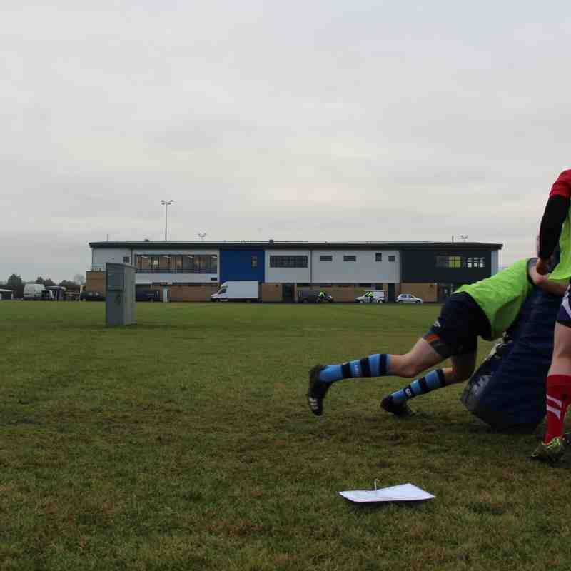 Melksham RFC first training session at Oakfield