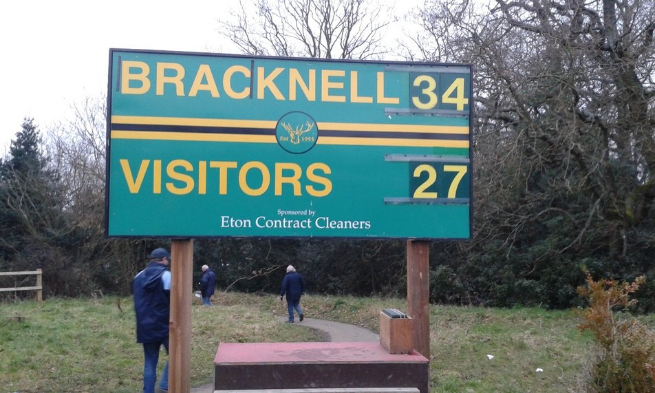 Bracknell 34 vs. 27 Barnstaple - 7 February 2015 - 1st XV ...