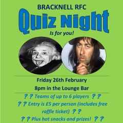 Quiz Night - Friday 26th February