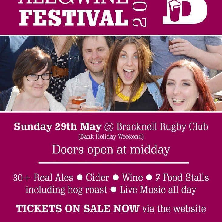 Bracknell Ale and Wine Festival<