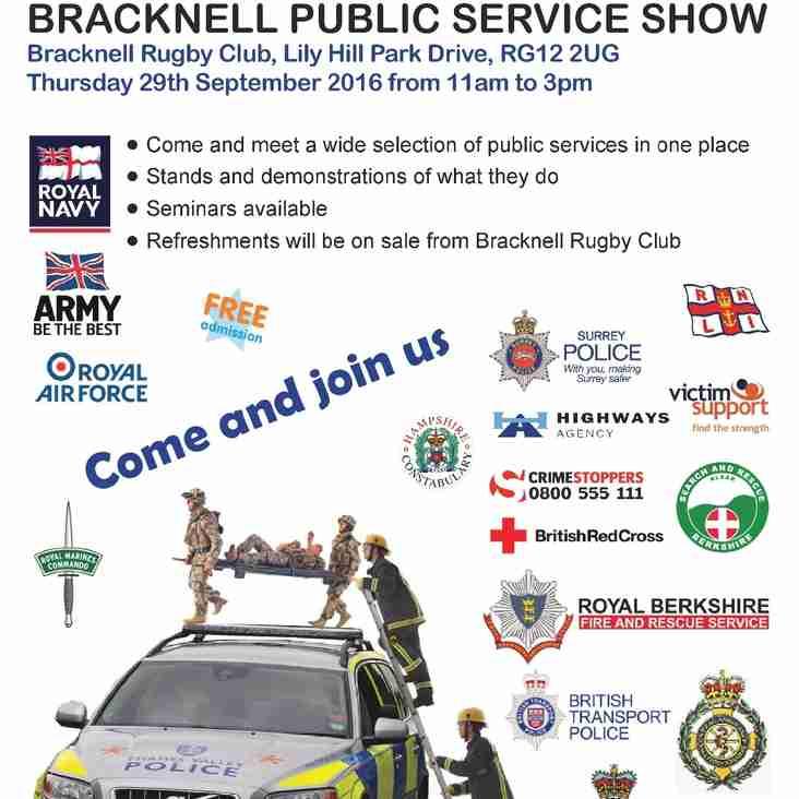 Bracknell Public Services Show