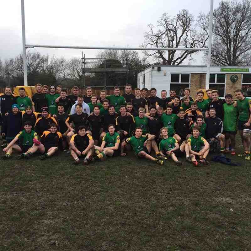 Academy 12 - Old Boys 19 (18 Dec 2016)