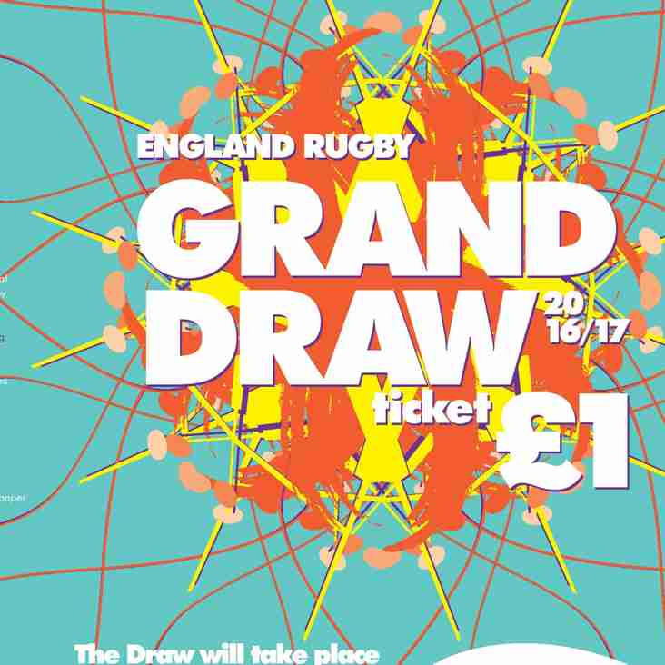 RFU Raffle tickets - reminder