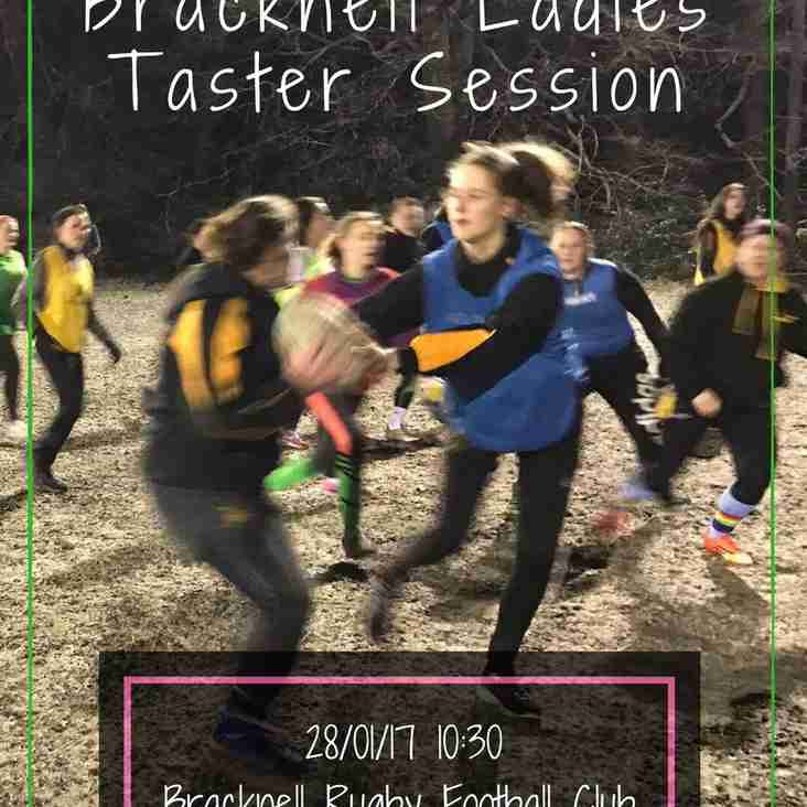 Ladies Rugby Taster Session