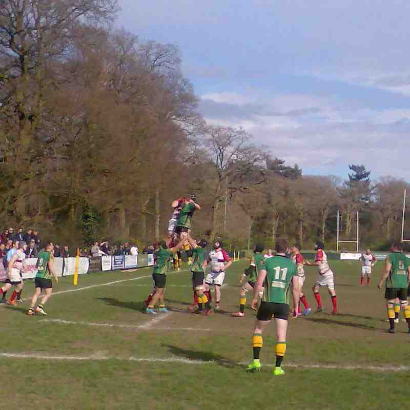 1XV vs Bromsgrove (Home) 1 April 2017