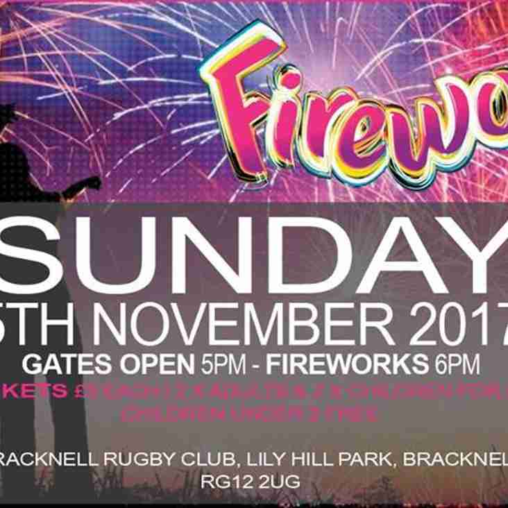 Fireworks Evening @ BRFC