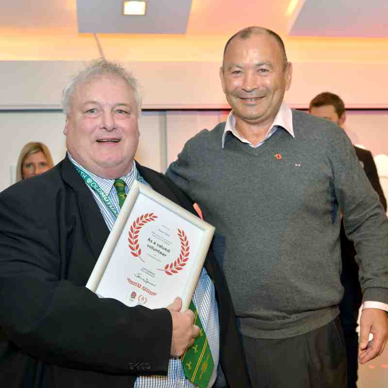 Steve Ward - RFU Volunteer Recognition Award