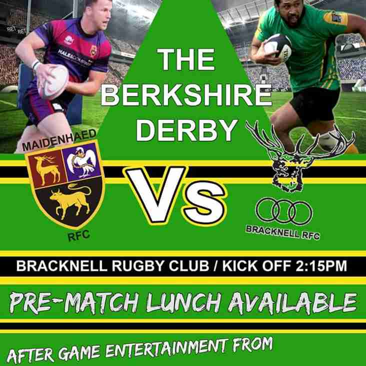 Berkshire Derby Day at BRFC
