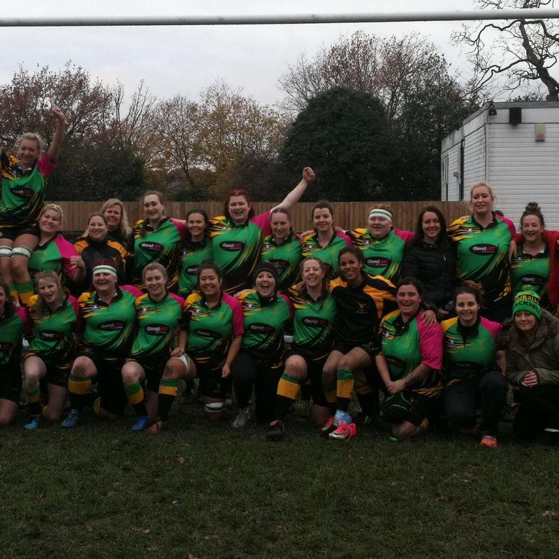 Bracknell Ladies VS Cannock Ladies 17/02/2019