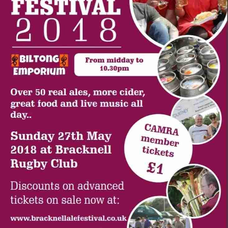 Bracknell Ale & Cider Festival 2018