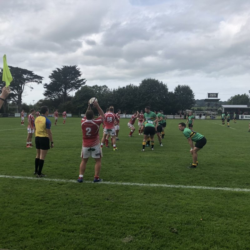 Disappointment for  1XV on the road