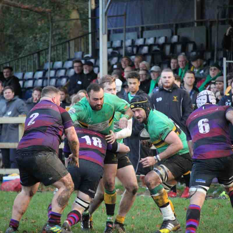 1XV v Maidenhead (H) 8.12.2018 (Courtesy Jayne Middleton)