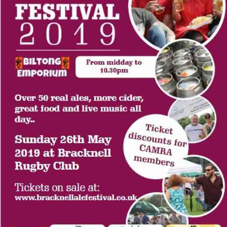 Bracknell Ale & Cider Festival 2019
