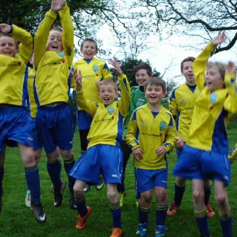 U11 Yellows - League Champs!