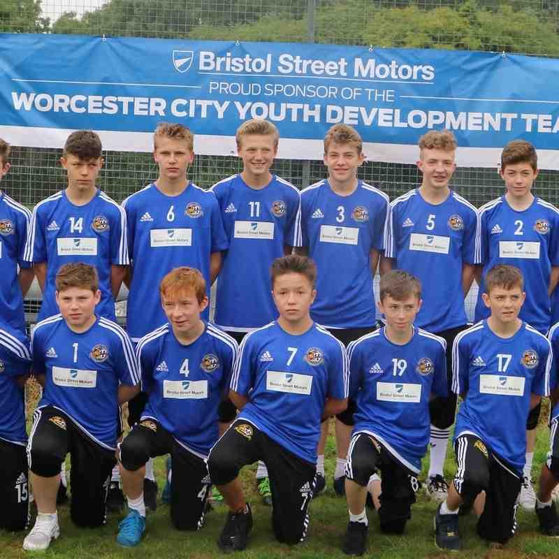 Under 14s Team - 2016/17
