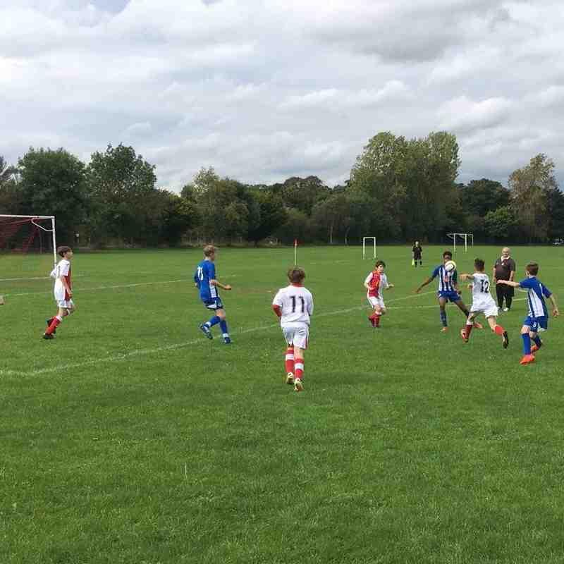 Under 14s - Kiddi Harriers (Away)