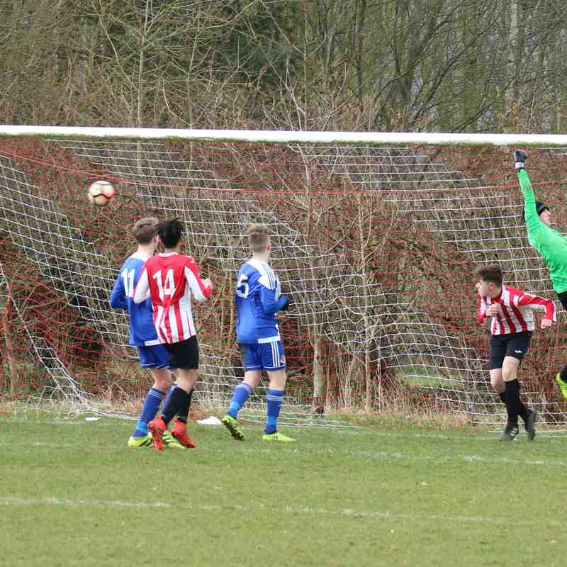 Evesham - County Cup Semi Final - March 2018
