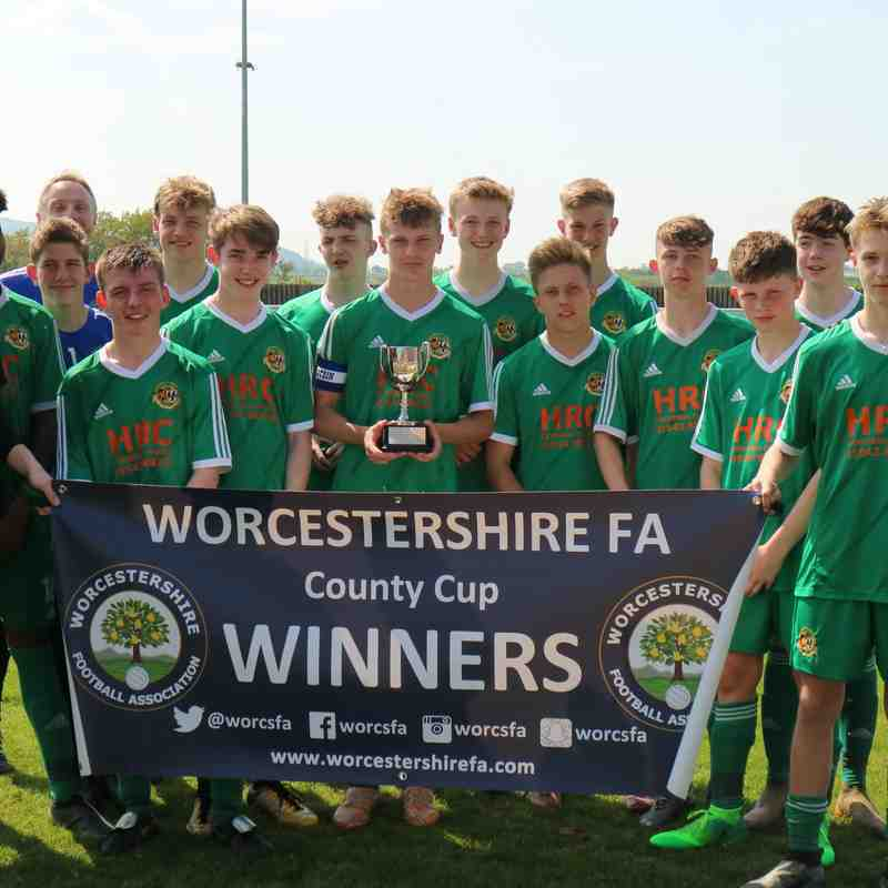 Worcester County Cup Final - May 2018