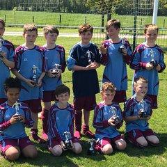 Milton United Under 12's beat Radley 0 - 3