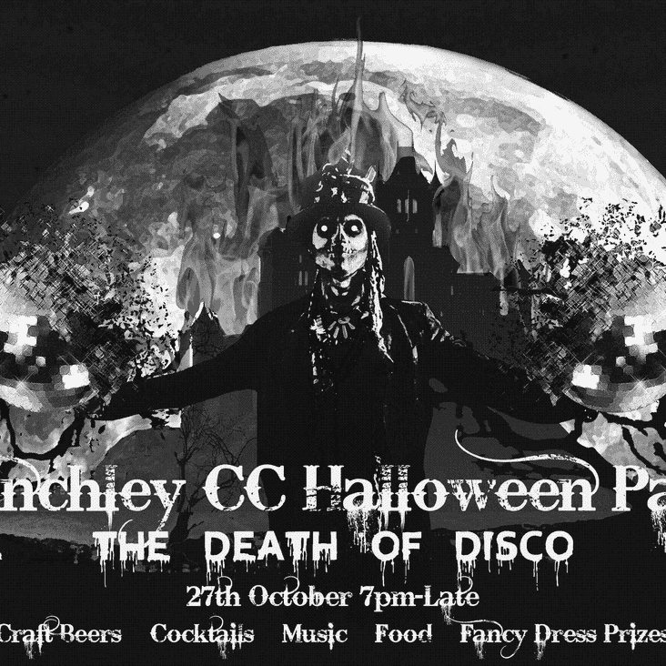 HALLOWEEN PARTY-SAT 27TH OCTOBER