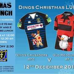 Dings Crusaders RFC v Old Redcliffians RFC - 12th Dec 2015