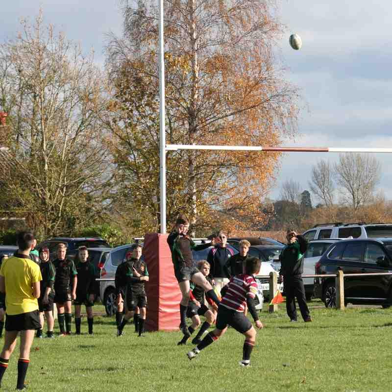 Shelford U14s vs Newmarket County Cup