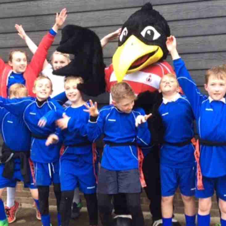 CRFC hosts Schools Tag Rugby Festival