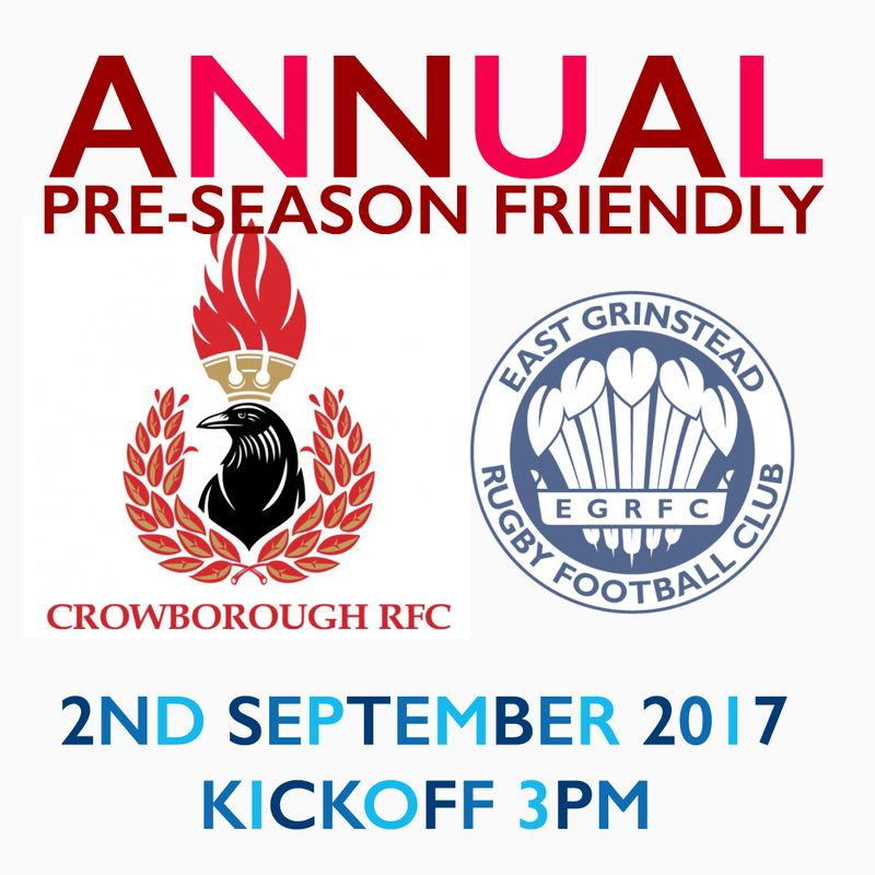 CRFC vs East Grinstead pre-season friendly