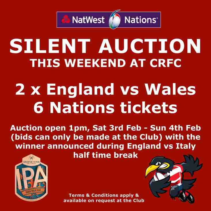 6 Nations Silent Auction