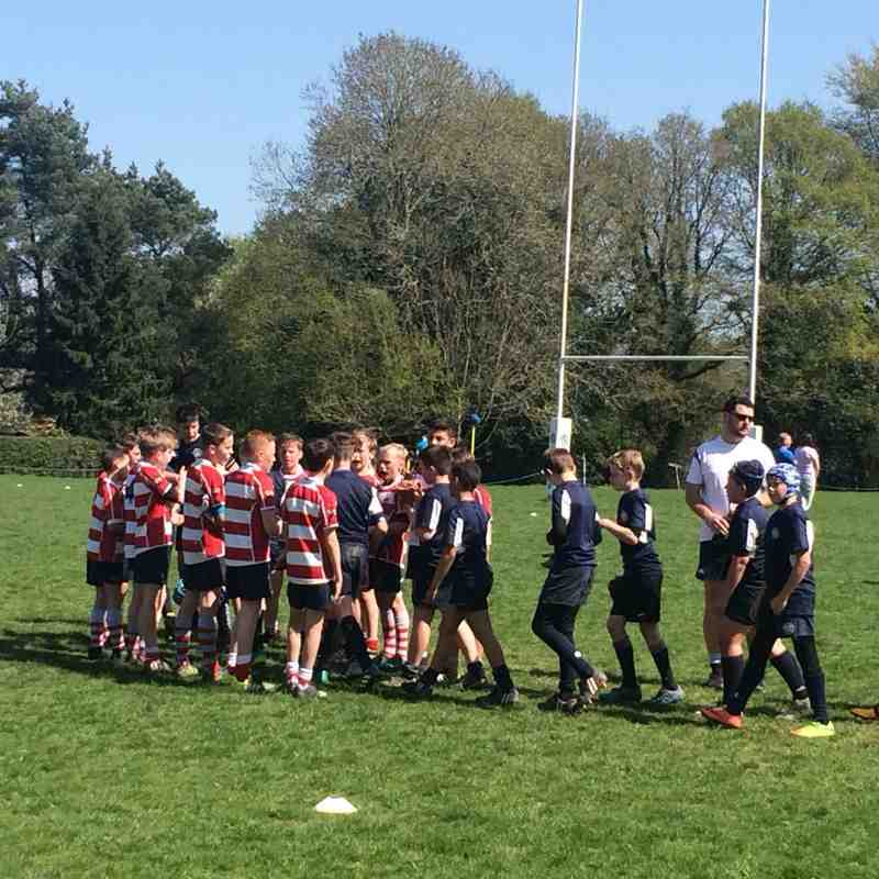 CRFC U12's vs East Grinstead 22/4/18