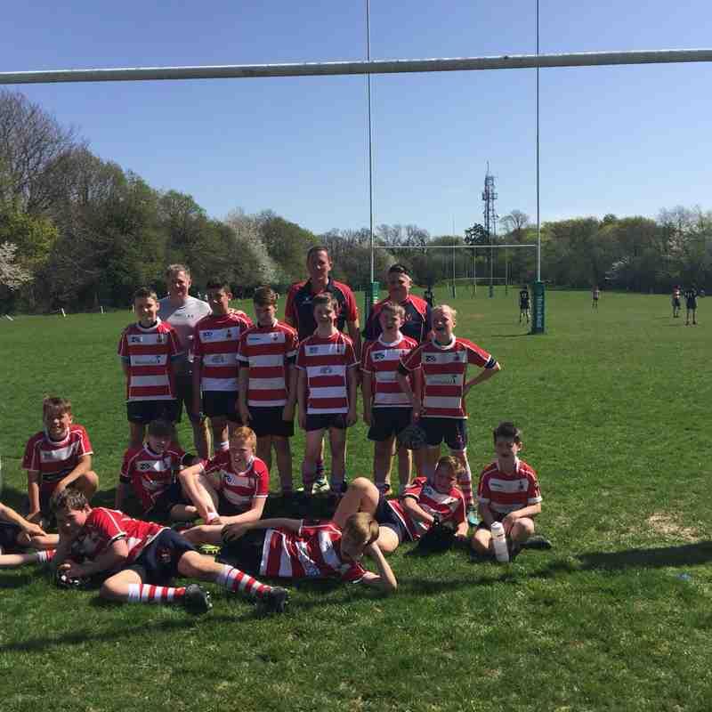 CRFC U12's vs East Grinstead 22/4/18
