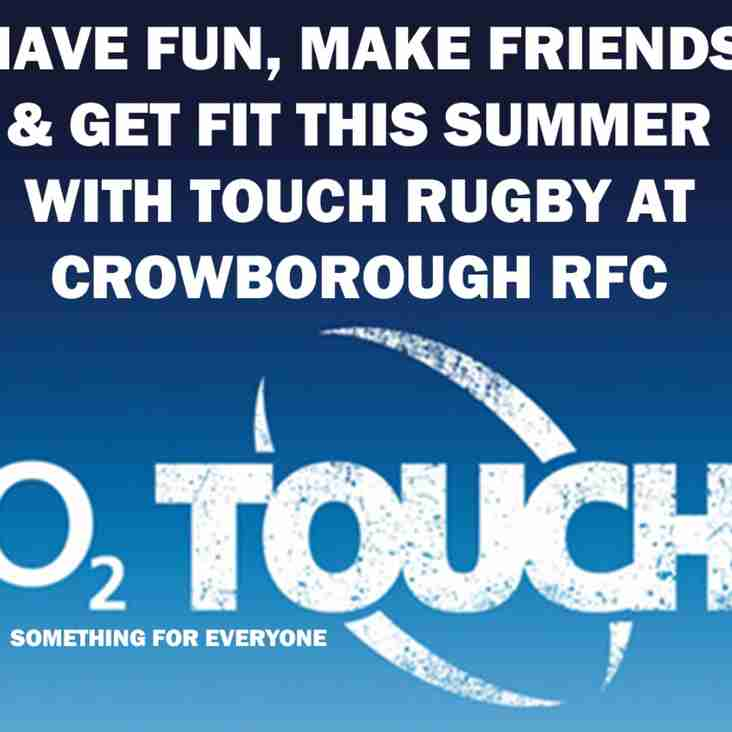 Touch Rugby at CRFC every week