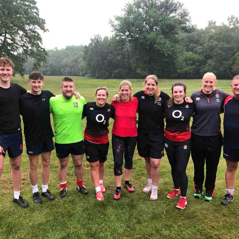 O2 Touch - Pennyhill Park day