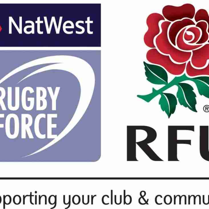 NatWest RugbyForce Day - Sat 14th July 2018