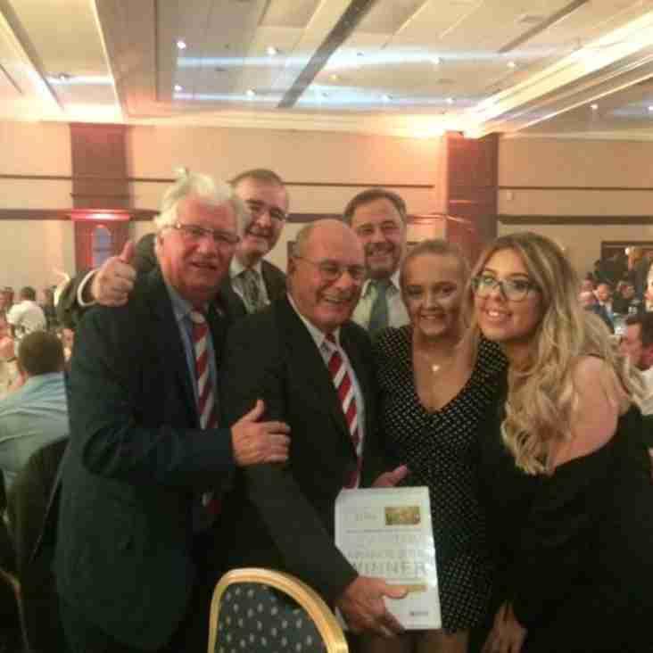 CRFC Friday Club win prestigious award