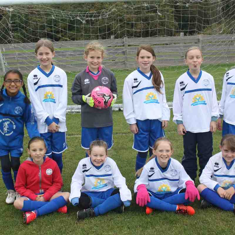 Hitchin Belles Under 10's - 17th Oct 2015