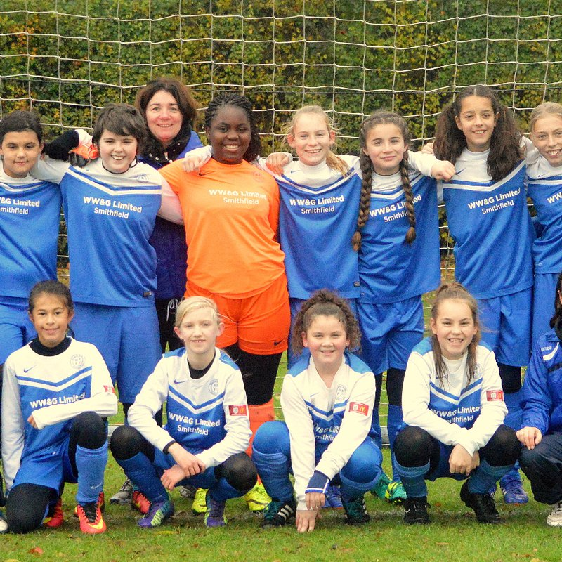 Hitchin Belles 1 - 1 Harvesters